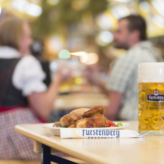 Fürstenberg festival tent